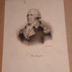 Arte: WASHINGTON. LITOGRAFÍA SIGLO XIX. RETRATO. ESTADOS UNIDOS. AMERICA. INDEPENDENCIA. DELPECH. Lote 187462960