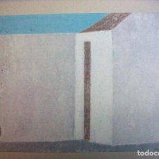 Arte: LITOGRAFIA DE JUAN JOSE AQUERRETA SIN TITULO CON CERTIFICADO DE AUTENTICIDAD. Lote 187513393