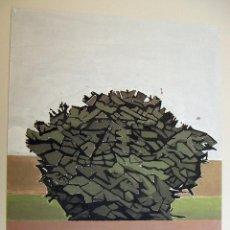Arte: LITOGRAFIA DE JOSE MARIA MEZQUITA SIN TITULO CON CERTIFICADO DE AUTENTICIDAD. Lote 187521326