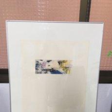Arte: LITOGRAFÍA FIRMADA. Lote 187575975