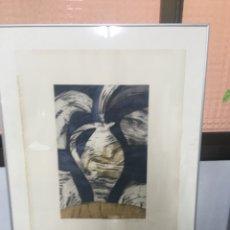 Arte: LITOGRAFÍA FIRMADA POR MARTA MONTCADA. Lote 187588387