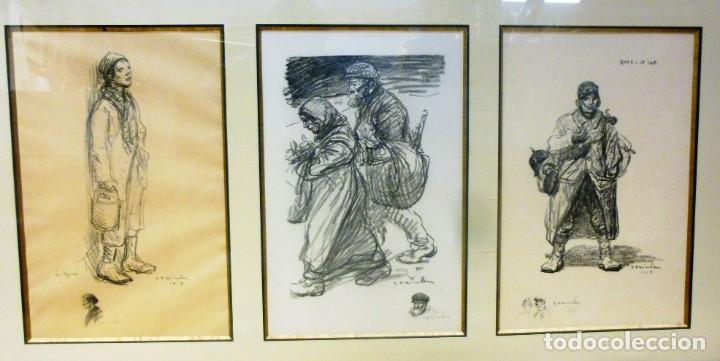 ALEXANDRE THEOPHILE STEILEN CONJUNTO DE LITOGRAFÍAS (Arte - Litografías)