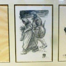 Arte: ALEXANDRE THEOPHILE STEILEN CONJUNTO DE LITOGRAFÍAS. Lote 188420880