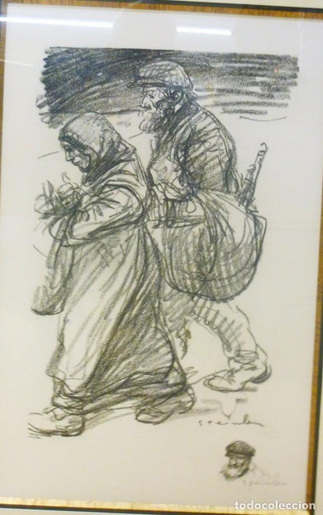 Arte: Alexandre Theophile Steilen conjunto de litografías - Foto 4 - 188420880