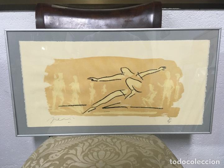 Arte: Litografía firmada por autor no identificado - Foto 2 - 188500890