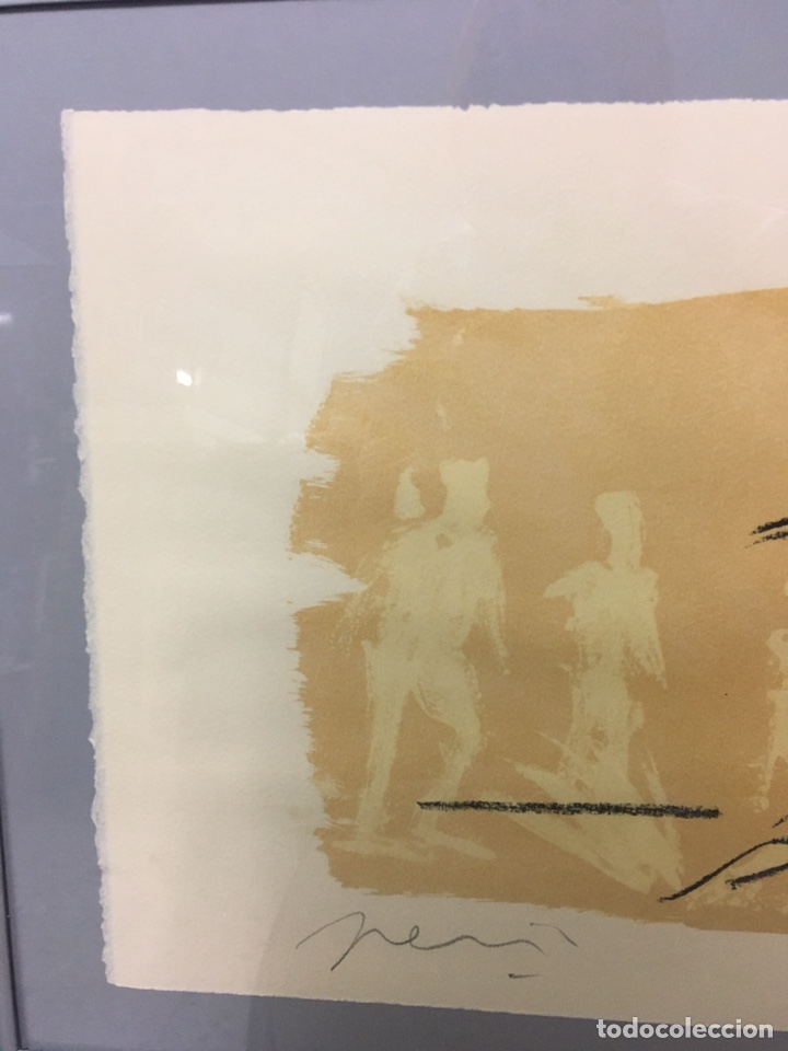 Arte: Litografía firmada por autor no identificado - Foto 3 - 188500890