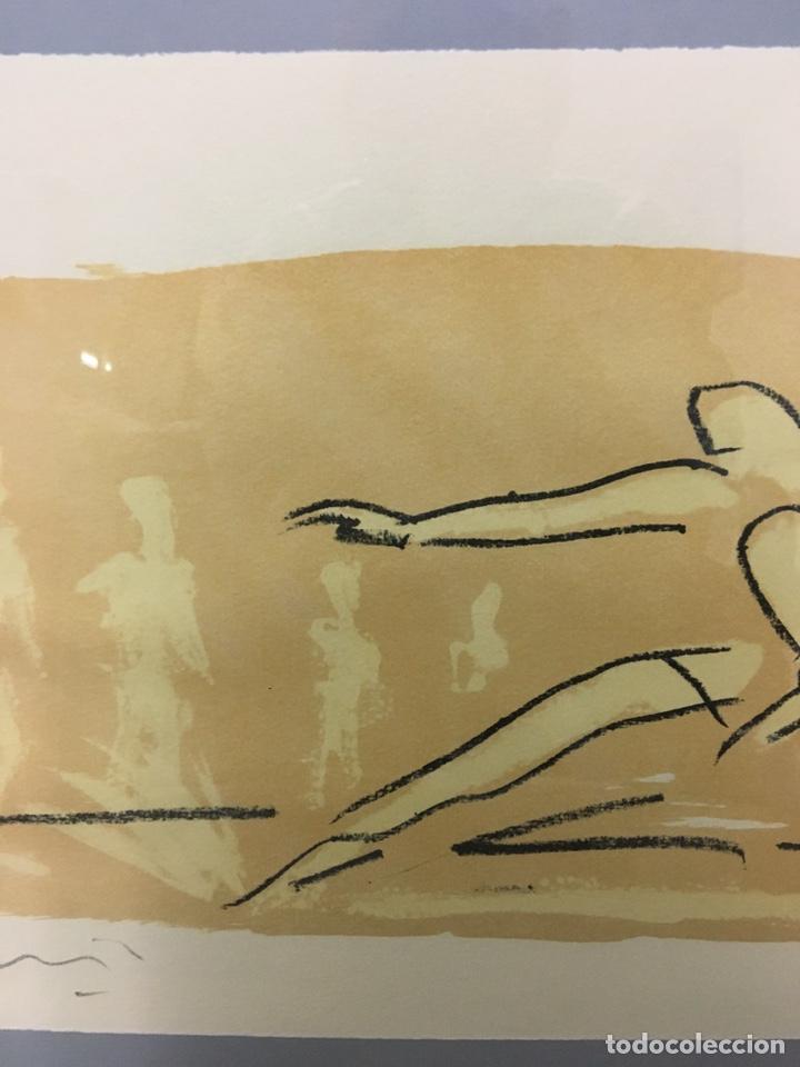 Arte: Litografía firmada por autor no identificado - Foto 4 - 188500890