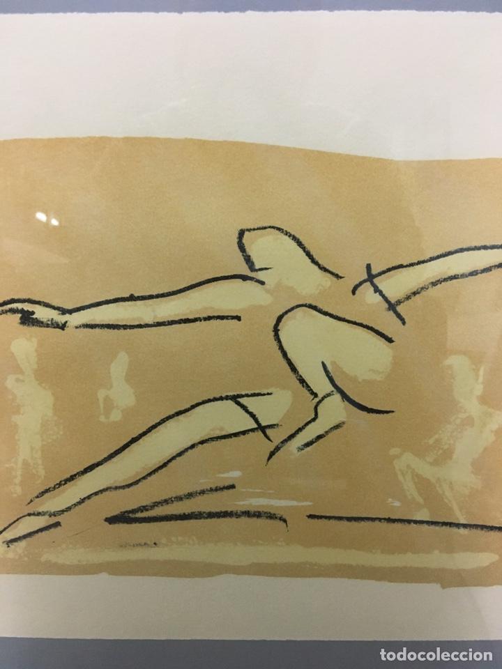 Arte: Litografía firmada por autor no identificado - Foto 5 - 188500890