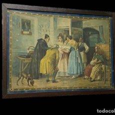 Arte: VALENCIA VISITA A LA DIDA, DE B. FERRANDIZ , CON SELLO DE ALGODONES LA BARRACA, VDA DE VILLENA,. Lote 188732343