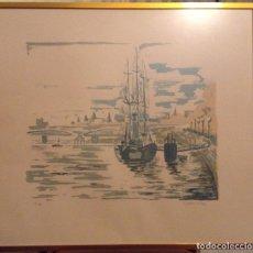Arte: JOSEP SERRA LLIMONA LITOGRAFIA FIRMADA Y NUMERADA 14/99. Lote 189963106