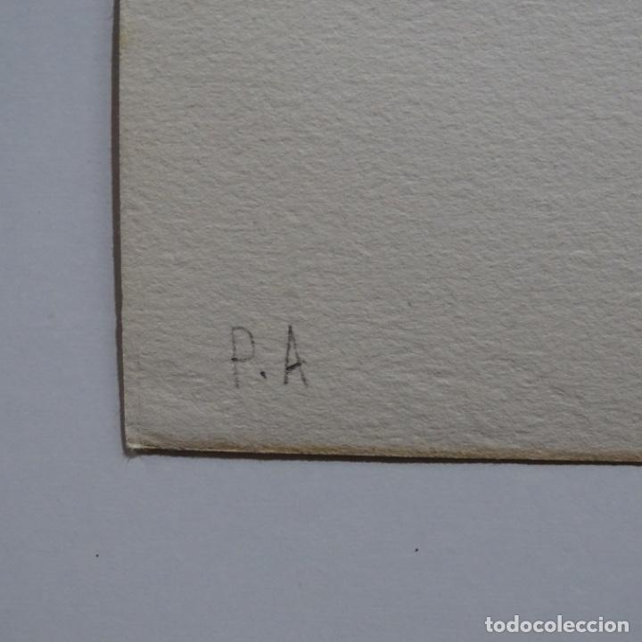"""Arte: Litografia de antoni tapies.""""Quatre barres"""".Edición de 100 ejemplares.sala gaspar.1971.p a - Foto 12 - 190178483"""