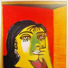 Arte: PABLO RUIZ PICASSO TITULO: DORA MAR- LITOGRAFIA OFFSET GRAN FORMATO. Lote 190285770