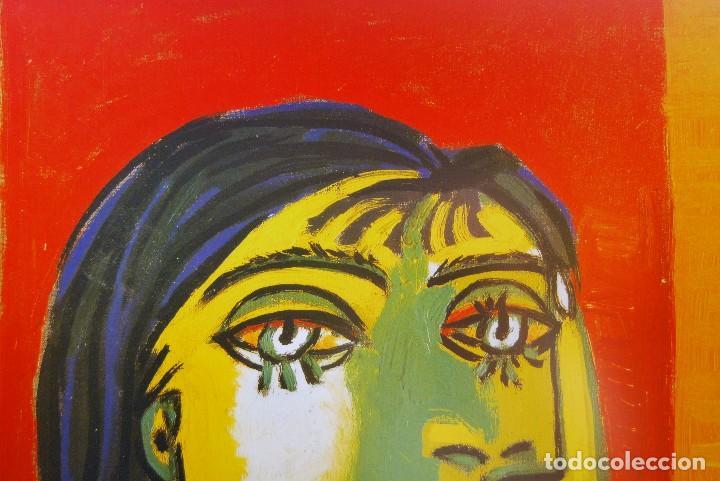Arte: PABLO RUIZ PICASSO TITULO: DORA MAR- Litografia Offset gran formato - Foto 3 - 190285770
