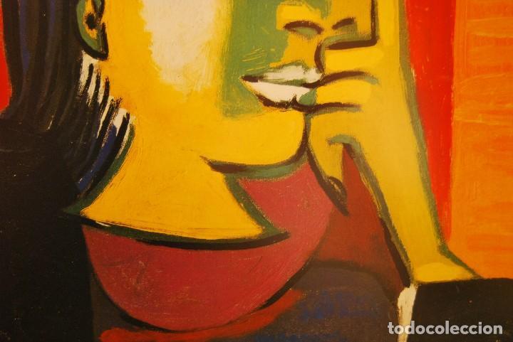 Arte: PABLO RUIZ PICASSO TITULO: DORA MAR- Litografia Offset gran formato - Foto 5 - 190285770