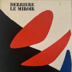 Arte: ALEXANDER CALDER - DERRIÈRE LE MIROIR Nº 190 - MAEGHT EDITEUR. Lote 190818105