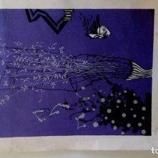 Arte: LITOGRAFÍA DE ARRANZ BRAVO. FIRMADA Y NUMERADA.. Lote 190860960