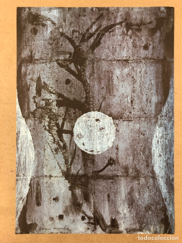 JUAN F. LACOMBA. LITOGRAFÍA DE 29,5 X 42 CMS. (Arte - Litografías)