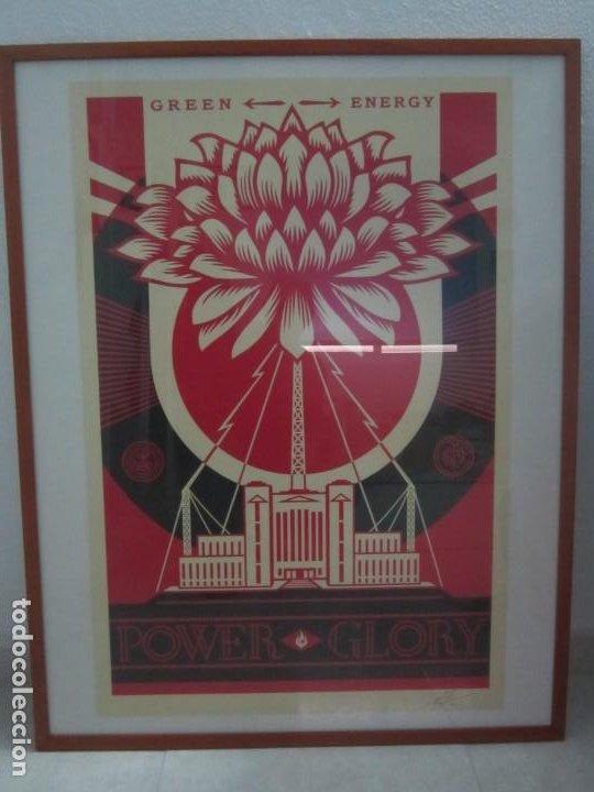 Arte: OBEY (Shepard Fairey)-Firmada- Power Glory-Espectacular Litografía Gran Calidad-61x91cm - Foto 11 - 191179761