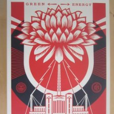 Arte: OBEY (SHEPARD FAIREY)-FIRMADA- POWER GLORY-ESPECTACULAR LITOGRAFÍA GRAN CALIDAD-61X91CM. Lote 191179761