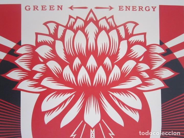 Arte: OBEY (Shepard Fairey)-Firmada- Power Glory-Espectacular Litografía Gran Calidad-61x91cm - Foto 3 - 191179761