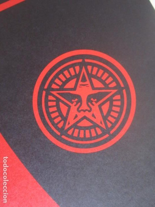 Arte: OBEY (Shepard Fairey)-Firmada- Power Glory-Espectacular Litografía Gran Calidad-61x91cm - Foto 4 - 191179761