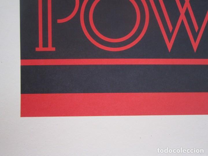 Arte: OBEY (Shepard Fairey)-Firmada- Power Glory-Espectacular Litografía Gran Calidad-61x91cm - Foto 10 - 191179761