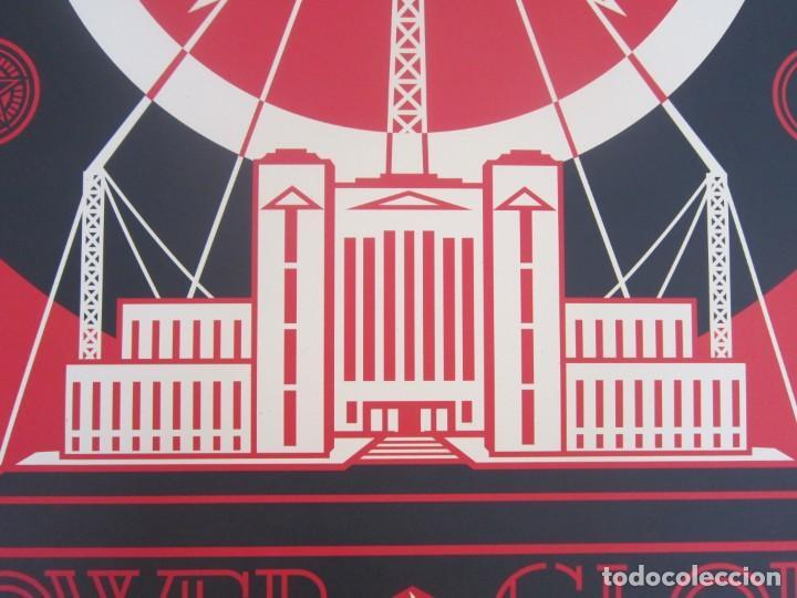 Arte: OBEY (Shepard Fairey)-Firmada- Power Glory-Espectacular Litografía Gran Calidad-61x91cm - Foto 5 - 191179761