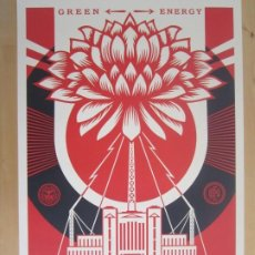 Arte: OBEY (SHEPARD FAIREY)-FIRMADAS- 2XLITOGRAFÍAS GRAN CALIDAD-61X91CM. Lote 191182855
