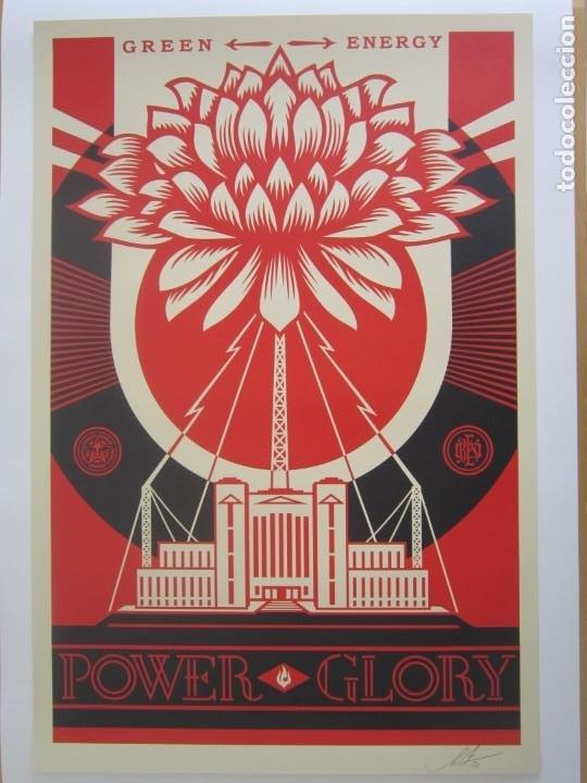Arte: OBEY (Shepard Fairey)-Firmadas- 2XLITOGRAFÍAS Gran Calidad-61x91cm - Foto 15 - 191182855