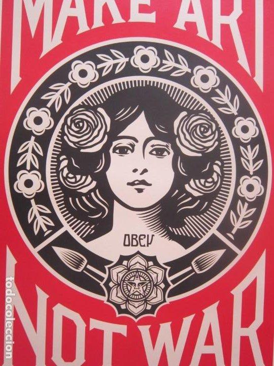 Arte: OBEY (Shepard Fairey)-Firmadas- 2XLITOGRAFÍAS Gran Calidad-61x91cm - Foto 9 - 191182855