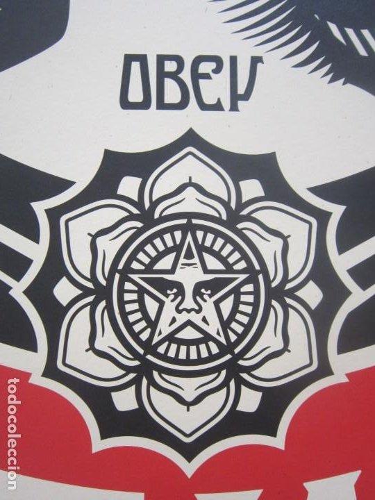 Arte: OBEY (Shepard Fairey)-Firmadas- 2XLITOGRAFÍAS Gran Calidad-61x91cm - Foto 12 - 191182855