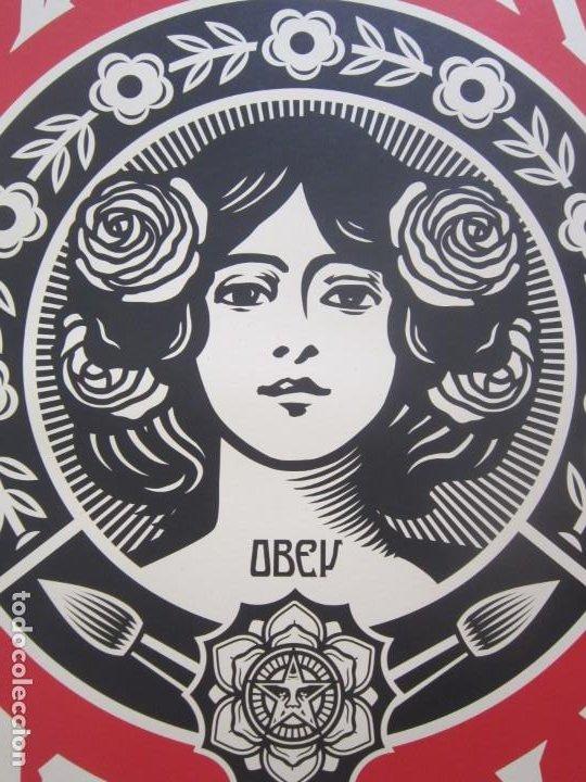 Arte: OBEY (Shepard Fairey)-Firmadas- 2XLITOGRAFÍAS Gran Calidad-61x91cm - Foto 13 - 191182855