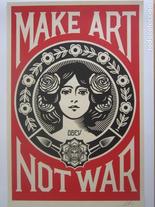 Arte: OBEY (Shepard Fairey)-Firmadas- 2XLITOGRAFÍAS Gran Calidad-61x91cm - Foto 14 - 191182855