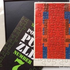 "Arte: ENVÍO 6€. TATE GALLERY PUZZLE DE BOLSILLO DE ROBYN DENNY ""FROM MY LIFE"" 1973. MIDE 11X15CM. Lote 191457145"