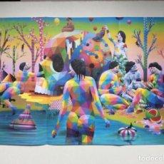 """Arte: ENVÍO 8€. GUÍA FOLLETO/REPRODUCCIÓN """"EL LAGO DEL DESEO"""" 2018 DE OKUDA SAN MIGUEL EN EL CCC.. Lote 218074723"""