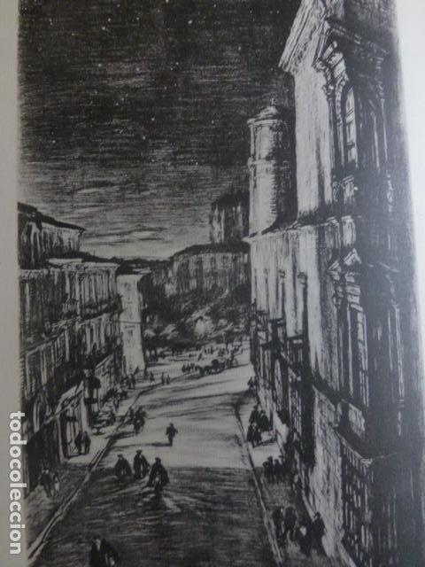 LEON CASA DE LOS GUZMANES LITOGRAFIA POR ARTISTA VIAJERO INGLES BONE 13,5 X 22 CMTS (Arte - Litografías)