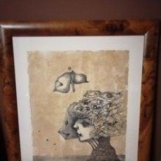 Arte: MODEST CUIXART. LITOGRAFIA ORIGINAL. FIRMADA Y NUMERADA. ENMARCADO EXCELENTE. Lote 191767711