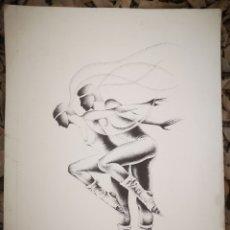 Arte: EDUARD LLORENS FAGES (BARCELONA, 1935) PRUEBA DE AUTOR. 36X27CM. Lote 191809156