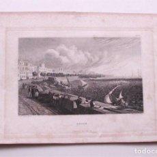Arte: CÁDIZ. VISTA DE LA ALAMEDA. F. GEIFSLER DIREX. H. PETERSEN SCULP. PHILADELPHIA (SIGLO XIX). Lote 191838818
