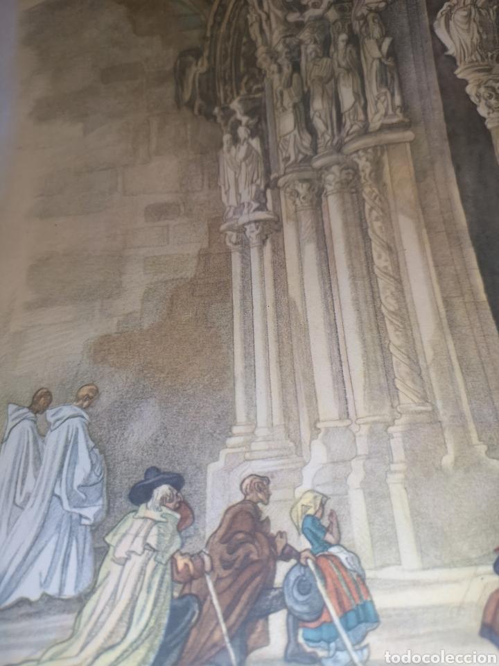 Arte: Litografía Santiago de compostela - Foto 2 - 192004725