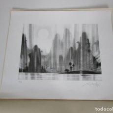 Arte: LITO-OFFSET - XAVIER CARBONELL (OLOT 1942- 2015) - TIRADA 125 EJEMPLARES - FIRMADO Y NUMERADO. Lote 192119122