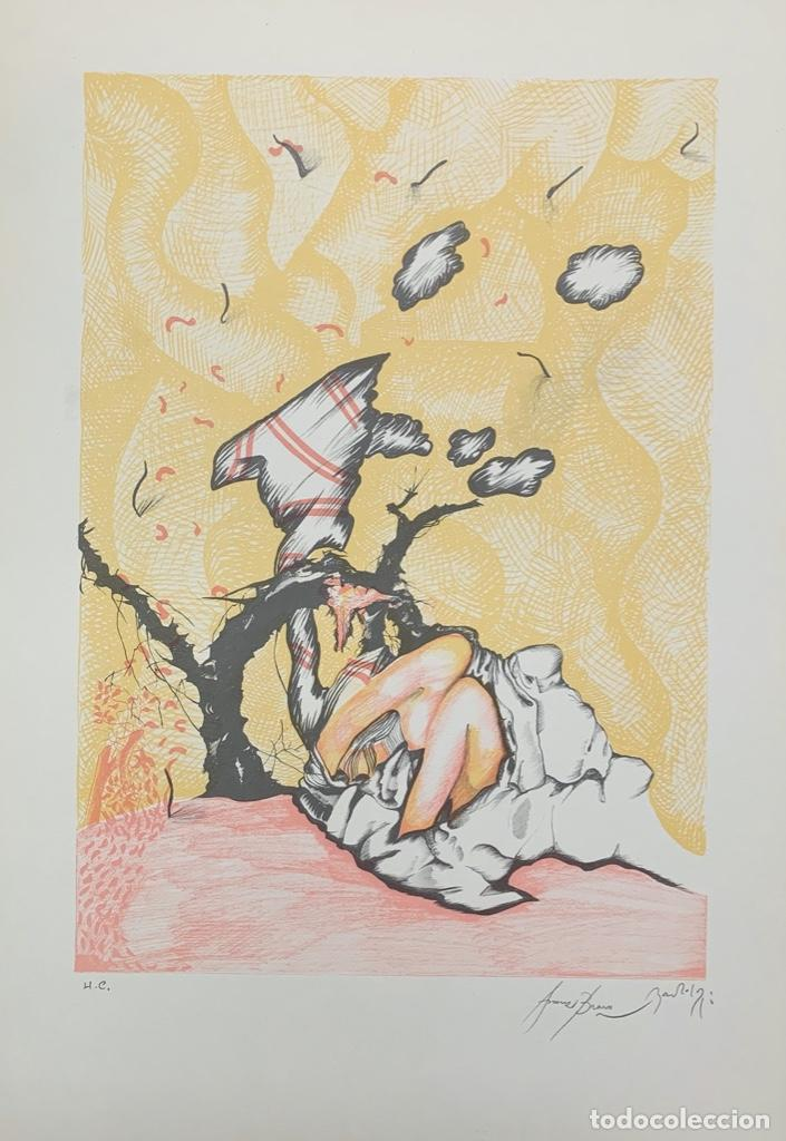 Arte: EDUARD ARRANZ BRAVO Y BARTOLOZZI - LITOGRAFÍA - - Foto 2 - 172008663