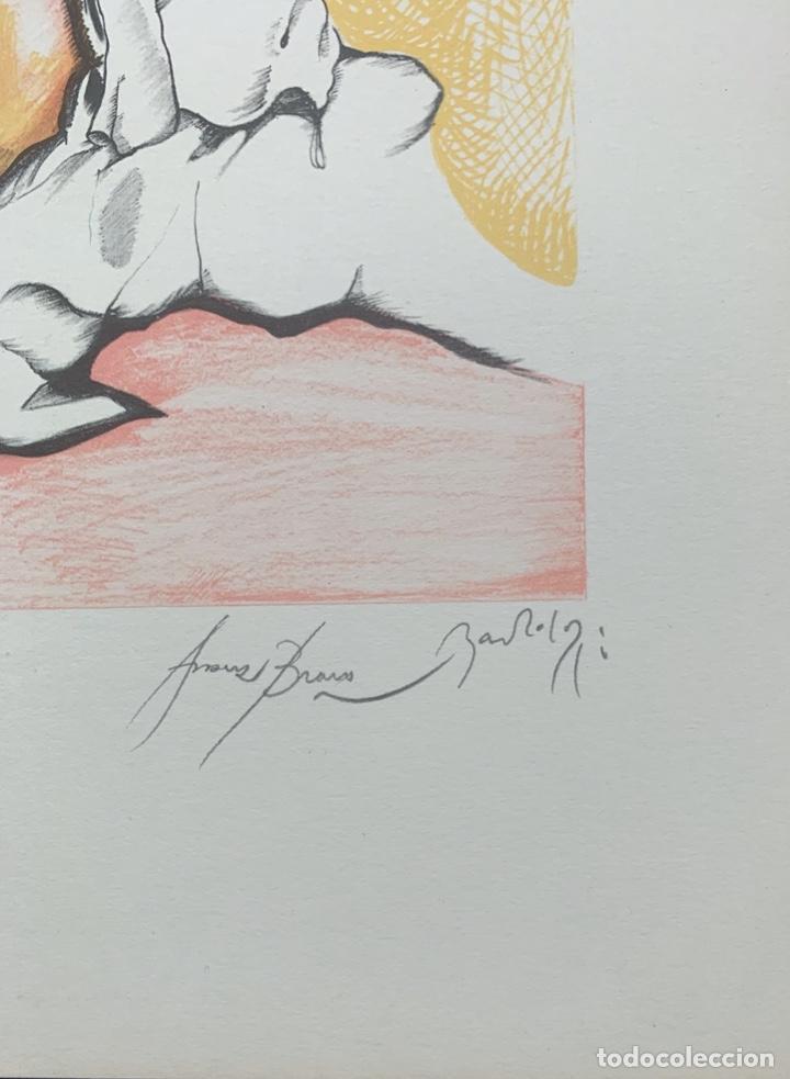 Arte: EDUARD ARRANZ BRAVO Y BARTOLOZZI - LITOGRAFÍA - - Foto 4 - 172008663