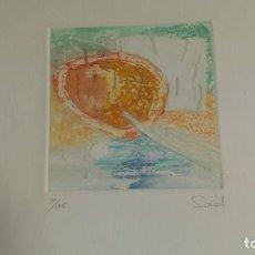 Arte: LITOGRAFÍA FIRMADA Y NUMERADA.. Lote 192590763
