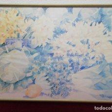Arte: LITOGRAFÍA CON FIRMA. MEDIDAS 104X71CM. Lote 193561273