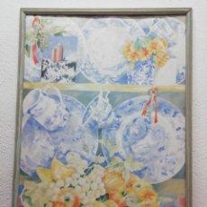 Arte: LITOGRAFÍA CON FIRMA. MEDIDAS 104X71CM. Lote 193561618