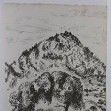 Arte: LITOGRAFÍA BENJAMIN PALENCIA. Lote 193763877