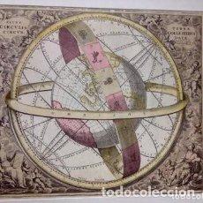 Arte: MAPA A. CELLARIUM REPRINT CON MARCO. Lote 194082343