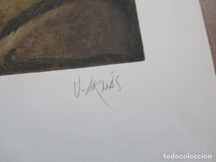 Arte: Litografía prueba de autor Vicente Arnás Lozano - Foto 4 - 194217608