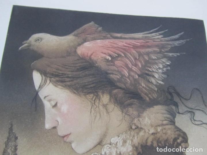 Arte: Litografía prueba de autor Vicente Arnás Lozano - Foto 5 - 194217608
